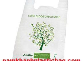 Degradable vest carrier bag ecofriendly