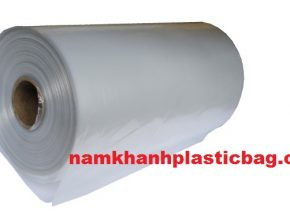 HDPE flat bag on roll or c fold, star seal EU standard