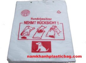 HDPE blockhead plastic bag for bread or pharmacy