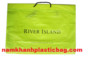 Custom printed for shopping drawstring bag