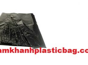 Black sack flat bag