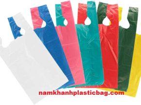 HDPE Thank you T-shirt plastic bag