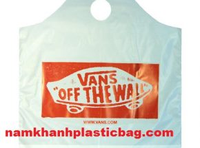 Poly wave top plastic bag