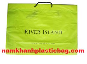 Túi nhựa luồn dây shopping in theo yêu cầu