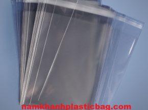 LDPE/PP túi nhựa nilon đựng thư có băng keo